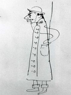 Henri de Toulouse-Lautrec — Self-Portrait. Caricature by Henri de. Henri De Toulouse Lautrec, Gustav Klimt, Painting Prints, Canvas Prints, Paintings, Art Nouveau, Free Art Prints, Collage, Paul Gauguin