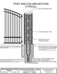 Column designs for entry gates entrance gate designs for home odessa fl prweb may 30 2012 with the current immobility of a large number of home owners improving property value and security is one common outlet for solutioingenieria Images