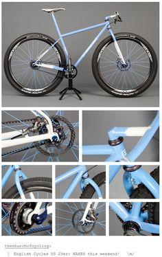 English 29er #bike. Love that stem!