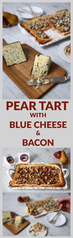 ... with this blue cheese and bacon pear tart pear tart with blue cheese