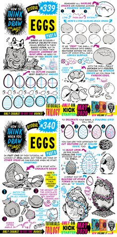 How to THINK when you draw EGGS tutorial! by EtheringtonBrothers on DeviantArt Drawing Lessons, Drawing Tips, Drawing Reference, Art Lessons, Drawing Stuff, Reference Images, Animal Sketches, Art Sketches, Nose Drawing