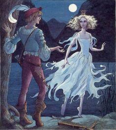 Trina Schart Hyman, Swan Lake. (I love her illustrations! <3)