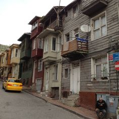 Wood houses in Istanbul, much preferred but apparently rarely built due to fire hazards