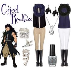 """Gajeel Redfox"" by casualanime on Polyvore"