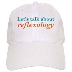 Let s Talk About Reflexology Baseball Cap on CafePress.com Fitness Gifts d7196ec8fa25