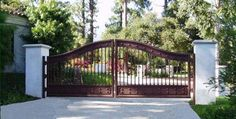 Iron Gates And Fences Charming About Remodel Exterior Design For Fence Remodeling with Iron Gates And Fences Design Inspiration