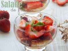 Salade de fraises