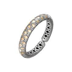 Fink's Jewelers - John Hardy Naga Slim Flex Cuff, $1,595.00 (http://finksjewelers.com/john-hardy-naga-slim-flex-cuff/)
