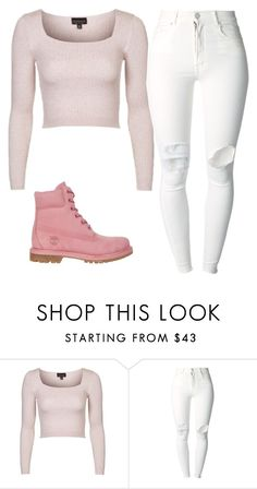 """""""Random #50"""" by zaddyshai ❤ liked on Polyvore featuring Topshop, (+) PEOPLE and Timberland"""