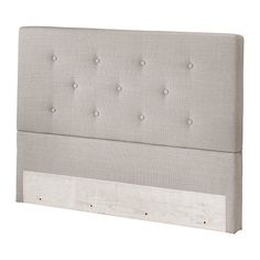 Bekkestua Headboard, Natural Light Gray