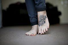 coole tattoos designs fuss tattoo blumen