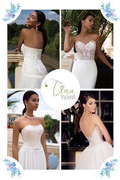 Open shoulders look very feminine and sexy. With the help of this technique is advantageous accented slim waist line, and the entire image becomes romantic notes... #tinavalerdi #weddingstyle #weddingday #weddinggown #weddingdress #bestdress #bestbride #instabride #beautiful #back #embroidery #lace #style #exclusive #design #bride #bridalshop