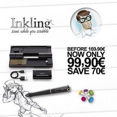 Bajamos el precio del Inkling!