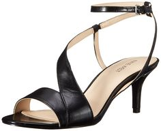 Nine West Women's Geena Leather Heeled Sandal ** Check out this great image  : Sandals