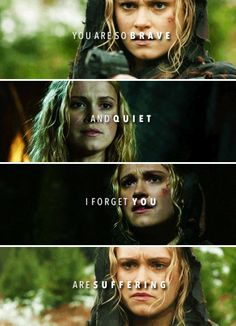 [gifset] #2x13 #Resurrection #ClarkeGriffin