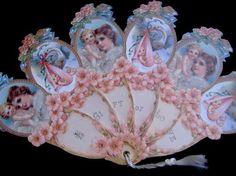 victorian fan cake | ... piece fan verse a gift of love fan 057 $ 6 50 each bulk special
