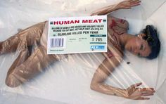 Ad campaign for PETA. neither would other-than-human animals. Street Marketing, Guerilla Marketing, Human Trafficking, Horror Art, Female Images, First They Came, Animal Rights, Going Vegan, Melbourne