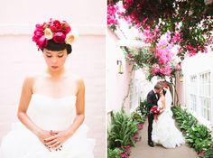 Romantic Garden-Inspired Wedding: Jackie + Keith