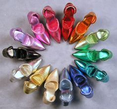 Facets by Marcia - Larger Fashion Doll Shoes