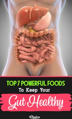 Top 7 powerful foods that will heal your gut and keep it in healthy condition.