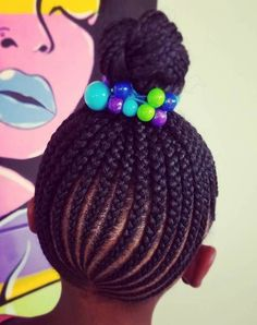 Braids for Kids – 40 Splendid Braid Styles for Girls Braids for Kids – 50 Splendid Braid Styles for Girls Little Girl Braid Hairstyles, Cute Braided Hairstyles, Little Girl Braids, Baby Girl Hairstyles, Braids For Kids, My Hairstyle, Girls Braids, Black Hairstyles, Teenage Hairstyles