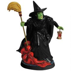 One of my favorite discoveries at WBShop.com: The Wizard of Oz Wicked Witch Hourglass Figurine