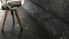 Gorgeous dark hexagon shaped colours from our new Roma series. The Roma series lends contemporary appeal to marble and stone. A timeless look with endless design options. - See more at: http://olympiatile.com/product/series/800#4056-statuario
