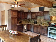 Rustic Kitchen!! Need wrap around counter