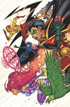 Teen Titans #2 - Jonboy Meyers