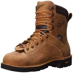 Danner Men's Quarry USA AT Work Boot Get the backup you need on the jobsite  with the Danner Quarry USA 8 Inch AT boot.