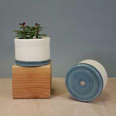 Ceramic handmade plant pot