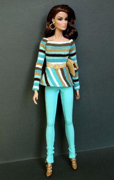 Karen Fashion OOAK Outfit for Fashion Royalty FR2 and Similar Dolls 14 | eBay
