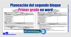 Planeación+del+segundo+bloque+Primer+grado++2017-2018