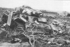 Panzer-III Ausf. N destroyed in Gdansk Area, 1945.