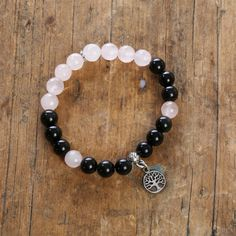 A personal favorite from my Etsy shop https://www.etsy.com/listing/267048241/fabulous-black-obsidian-with-rose-quartz