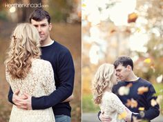 couple photo. guy facing camera then go to other side and get girl facing camera