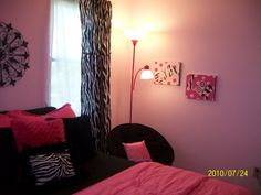 bedrooms for 10 year olds | Zebra fun, My 10 year old daughter's room makeover, Girls' Rooms ...