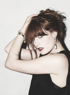 Florence Welch - Beautiful lady with a beautiful voice.
