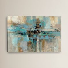 "Brayden Studio ""Morning Fjord"" by Silvia Vassileva Painting Print on Wrapped Canvas"