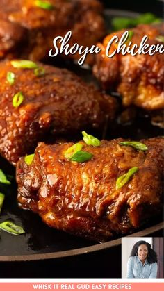 This Shoyu chicken is too easy! The Hawaiian chicken simmers in its own bubbly brown savory sauce until the meat is juicy and tender. This will become one of your favorite easy weeknight recipes! Chicken Dishes For Dinner, Dinner Dishes, Food Dishes, Dishes Recipes, Food Food, Easy Recipes, Easy Chicken Thigh Recipes, Easy Chicken Dinner Recipes, Healthy Chicken Recipes