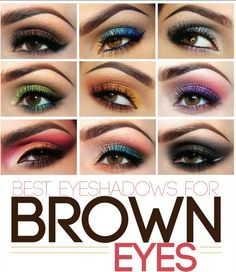 eyeshadows for brown eyes