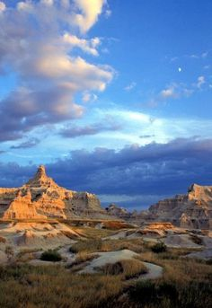 Badlands, South Dakota....THIS blue is what I'm referring to when I talk about my favorite color
