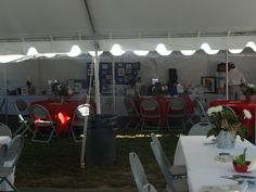 Auction item tent