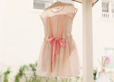 - Adorable Pink Retro Style Dress - Comfy and fresh dress for the summer - Cute cotton belt around waist - Shell: 100% Nylon. Lining: 100% Polyester. - Sizes: Age (2-7 Years Old) - Knee-Length - Machine Wash Cold - Imported  MONEY BACK WARRANTY In case you are not 100% satisfied with yo...