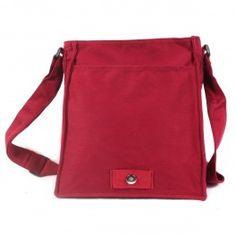 Ka Pao Tung grand sac à bandoulière - rouge Bourgogne
