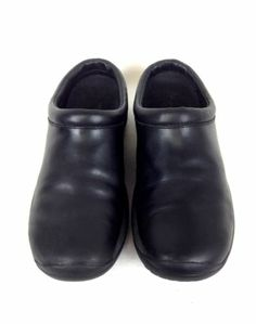Merrell Shoes Leather Black Comfort Slip on Athletic Slides Q Form Womens 9 5 M | eBay