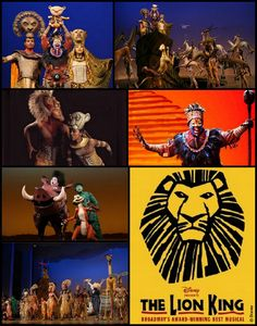 Lion King Musical - never been to the west end, I figure this would be a good show to lose my west end virginity with !
