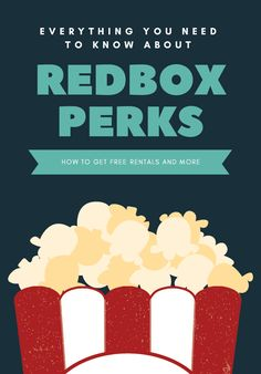 Redbox Perks is a reward program where you earn points redeemable for free movie rentals. You'll also get free rentals for your birthday and more. Free Redbox Rental, It's Your Birthday, Need To Know, How To Get, Movies, Movie Posters, 2016 Movies, Film Poster, Cinema