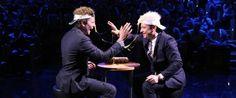 Bradley Cooper et Jimmy Fallon jouent à la Roulette Russe avec des oeufs.