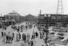 the legendary Asbury Park Boardwalk back in the day
